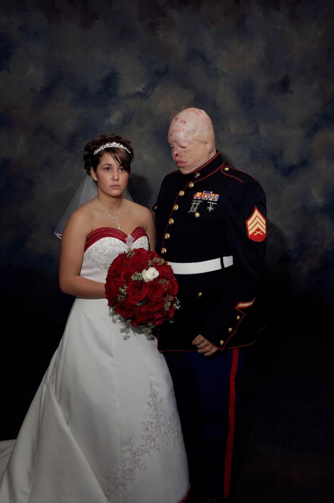 nina berman photography marine wedding