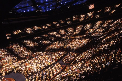 Lakewood Church,  Houston, Texas, 2005