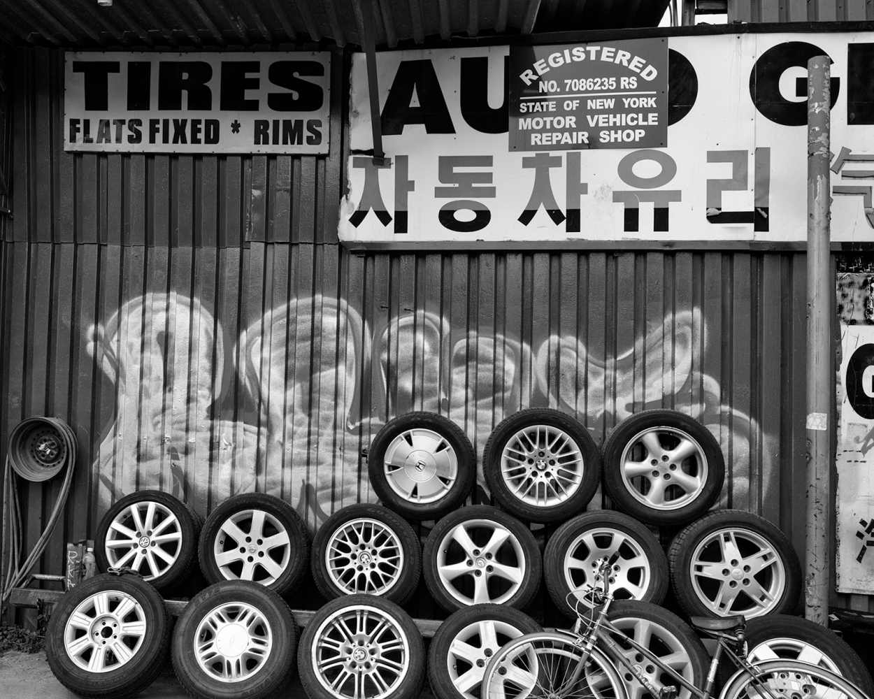Art and Documentary Photography - Loading Tires_and_Gelatto.jpg