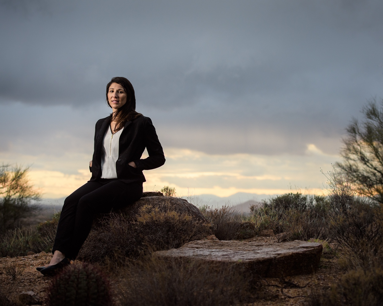 Andrea Lucarelli is an architect in Phoenix.