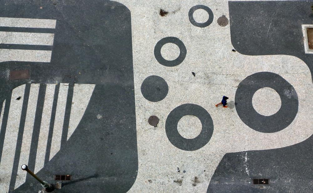 Copacabana Sidewalk Project by: Roberto Burle Marx Rio de Janeiro - Brazil