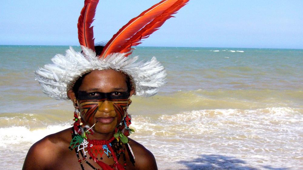 Enaldo Pataxó - Brazilian Pataxó native