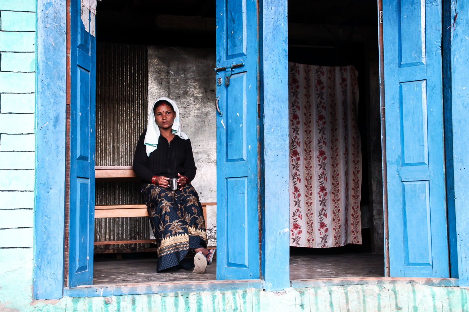 Pokhara, NEPAL, December 2009.