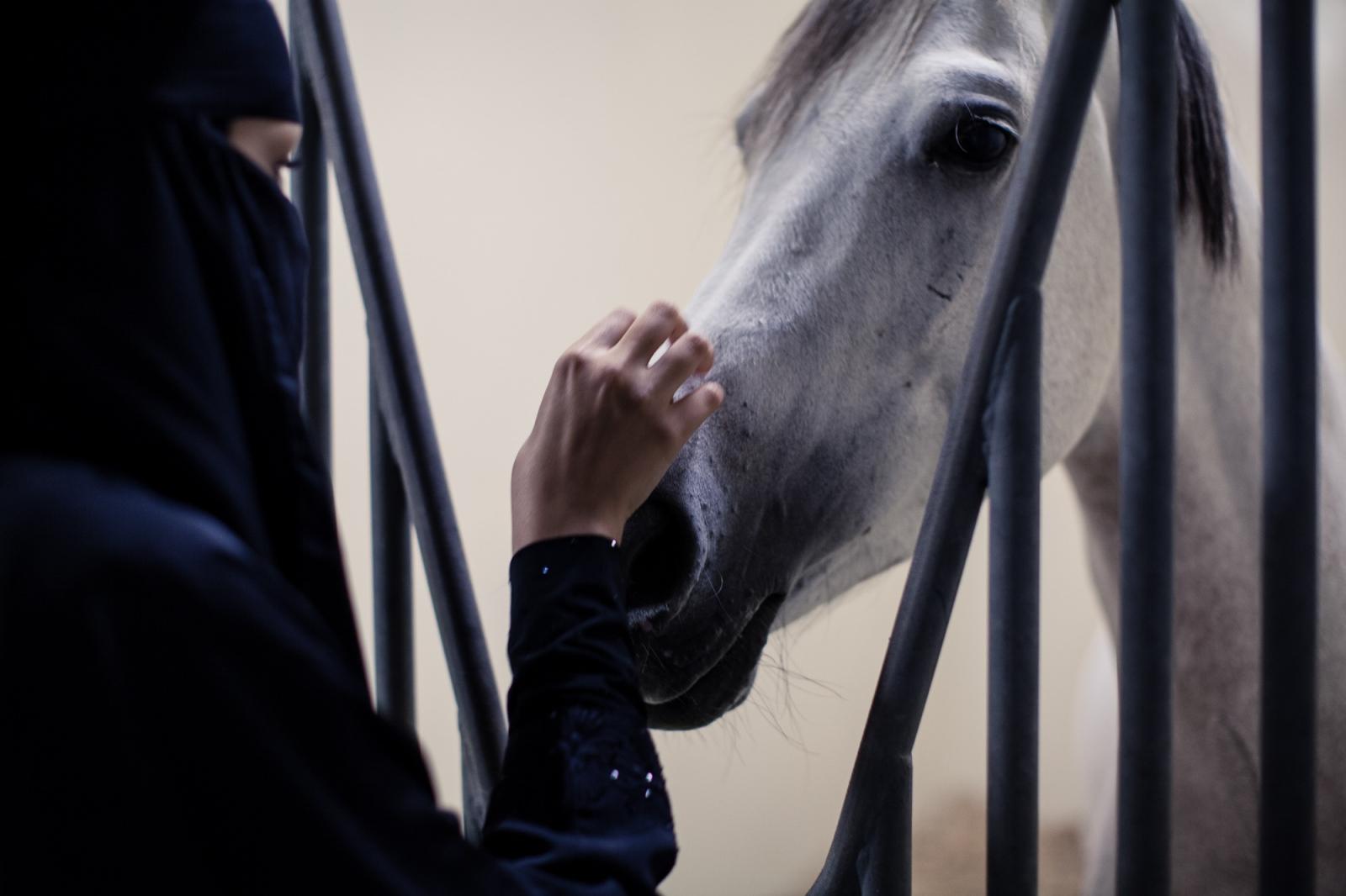 'Empathy'. Dubai, UAE, Deecember 2014.
