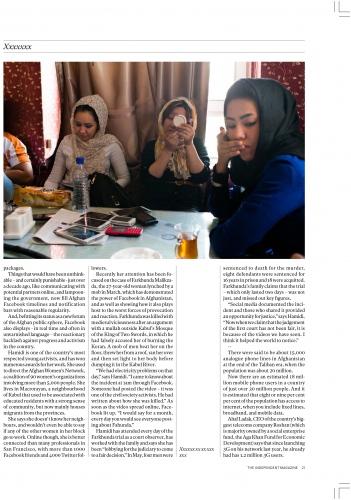BORN IN WAR, The IndependentMagazine (UK) - 2015