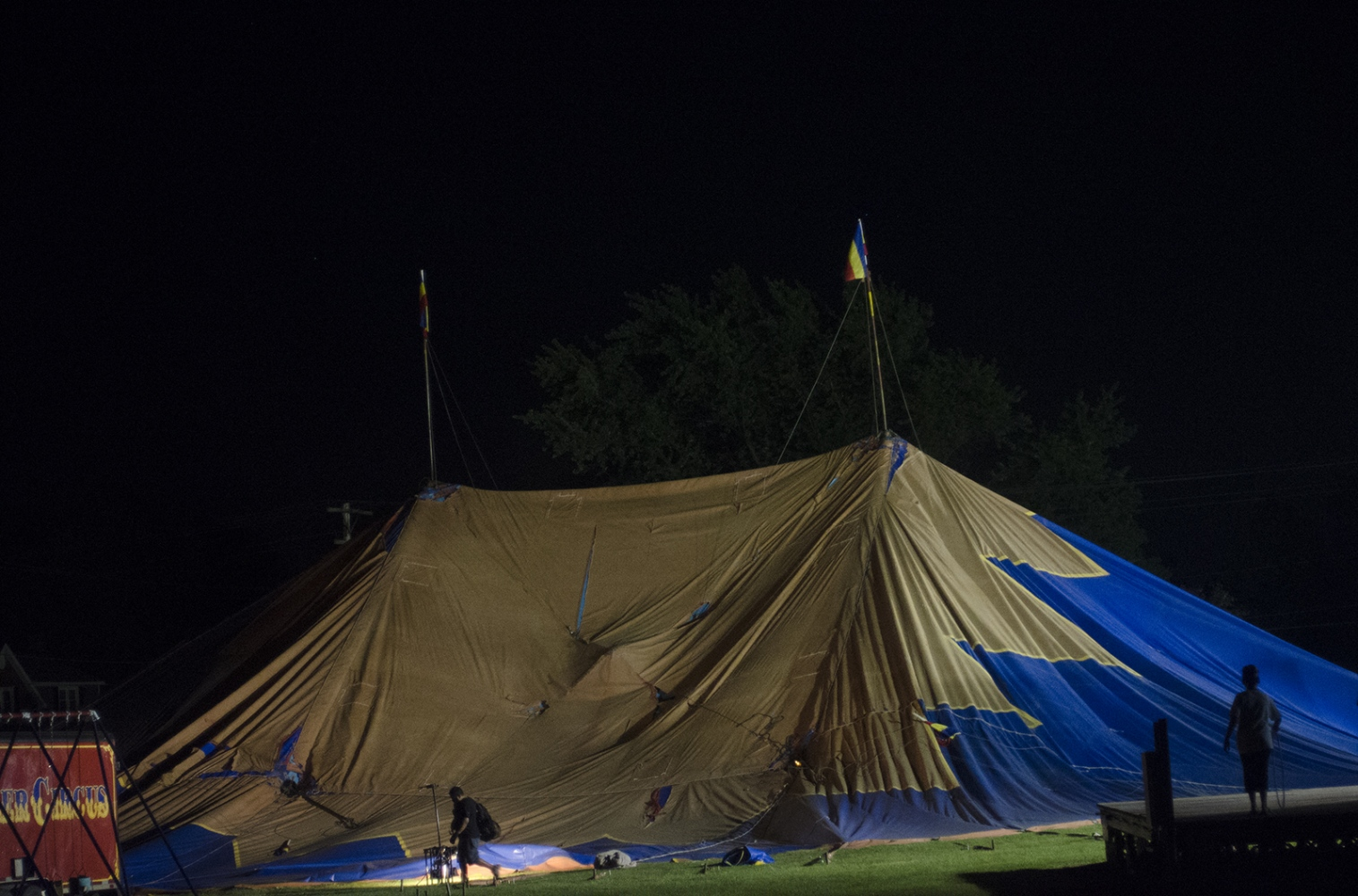 Art and Documentary Photography - Loading tent_night2.jpg