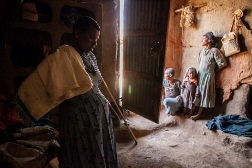 IDEAS Abebu labor at Dejen HC