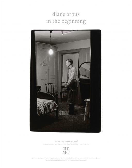 Poster for Diane Arbus: In The Beginning The Metropolitan Museum of Art 2016
