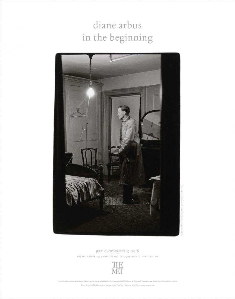 Poster for Diane Arbus: In The Beginning The Metropolitan Museum of Art 2016