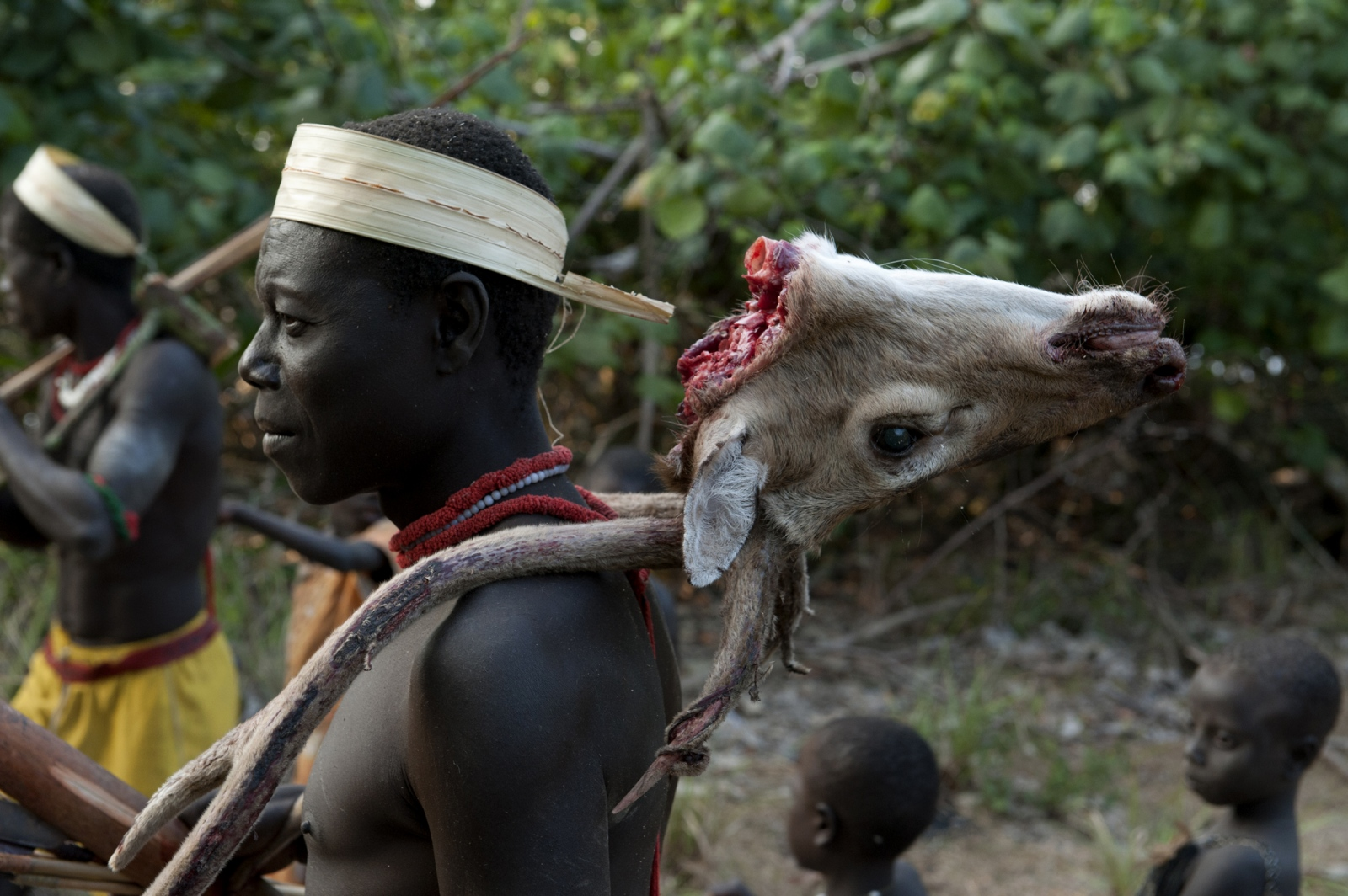 Art and Documentary Photography - Loading jarawa_beilvert_return_from_hunting.jpg
