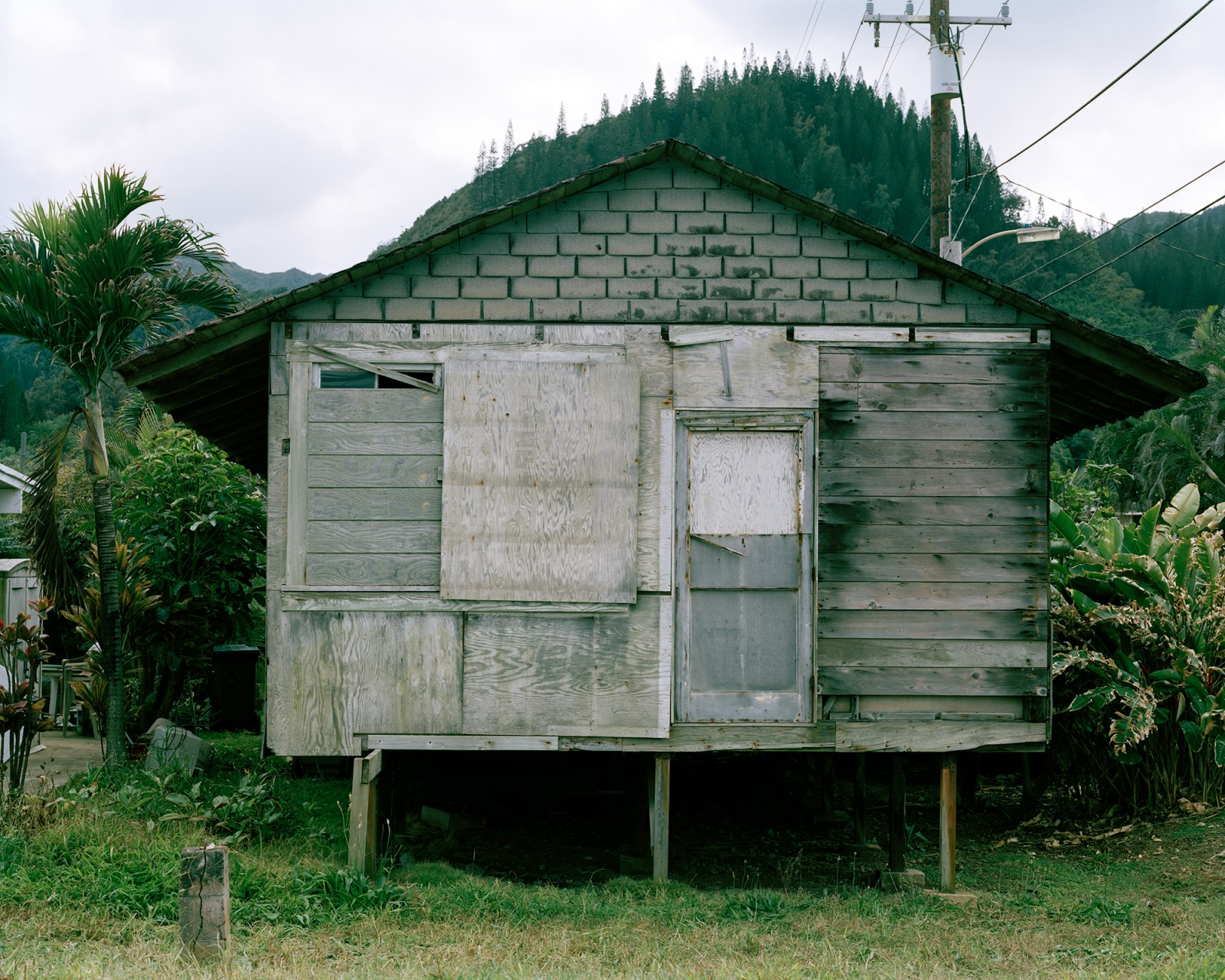 Small Wooden House (on Stilts), Hawaii 2014