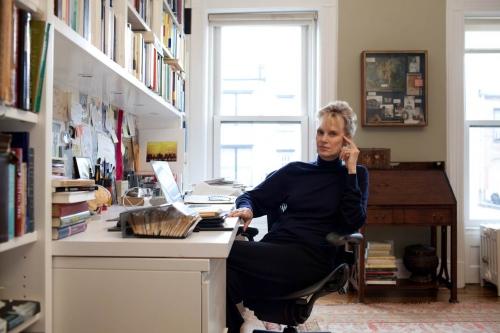 Siri Hustvedt for M, le Magazine du Monde