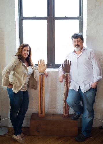 Carl Deal and Tia Lessin