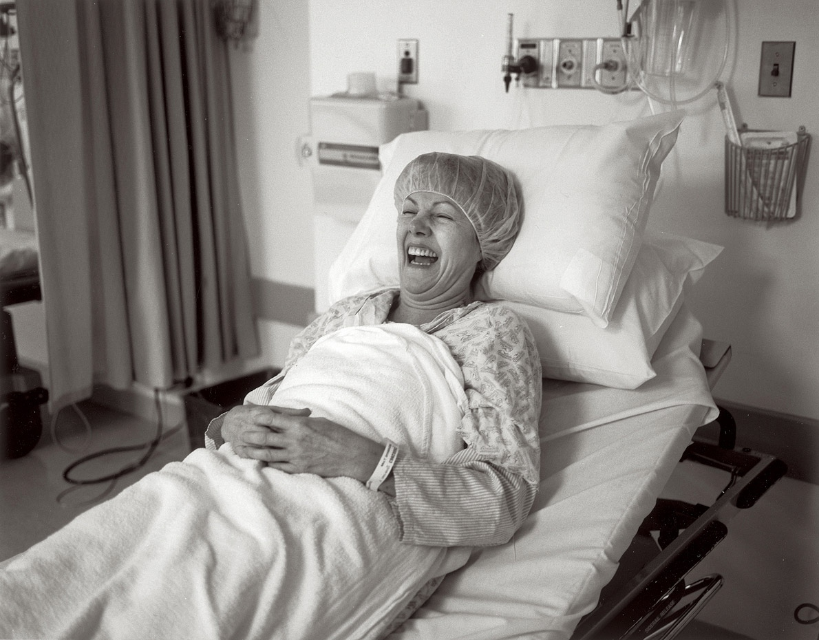 Laughing Before Surgery, 16 January 2003