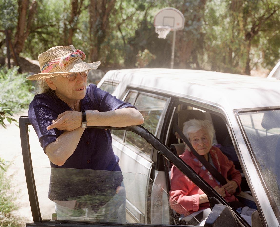 Ellen with her mother Herta, Topanga, CA