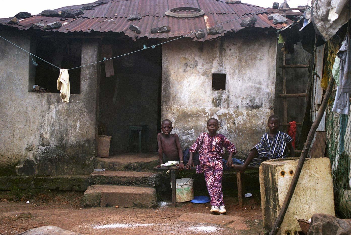 Goderich Village Freetown, Sierra Leone, 2006