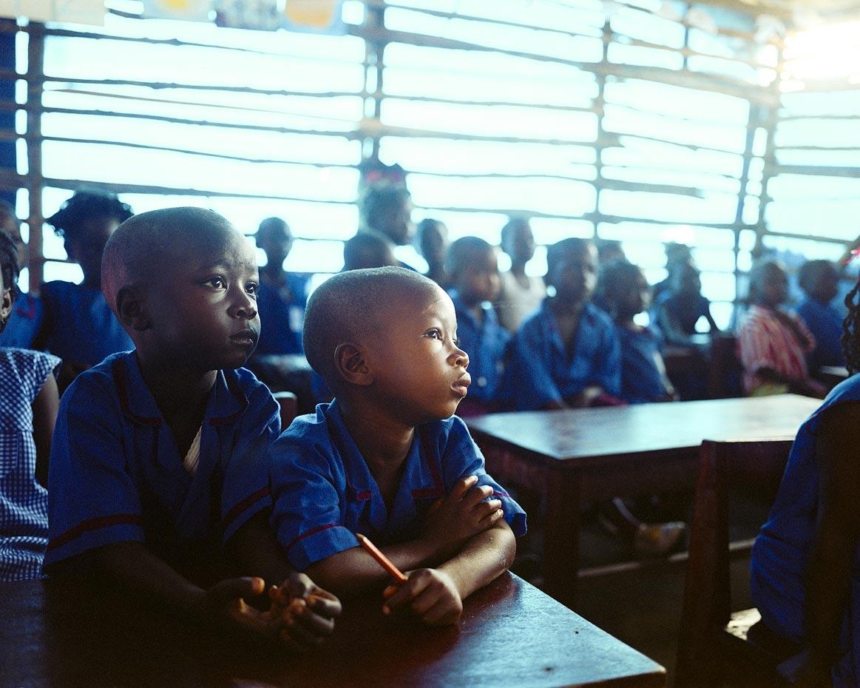 Class One, Goderich Waldorf School Freetown, Sierra Leone, 2006