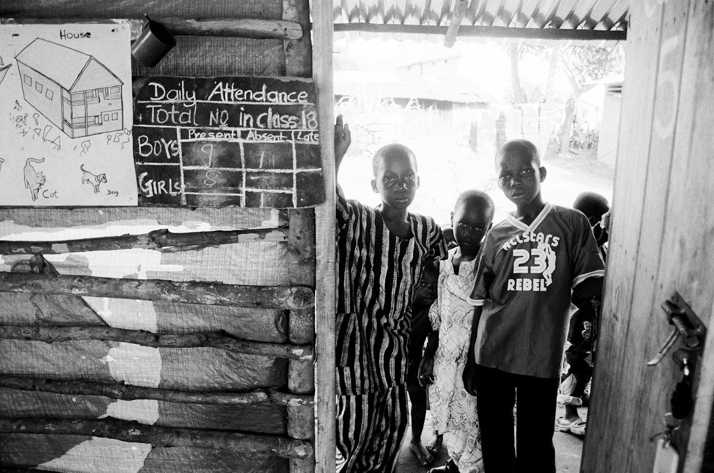 Daily Attendance, Goderich Waldorf School Freetown, Sierra Leone, 2006