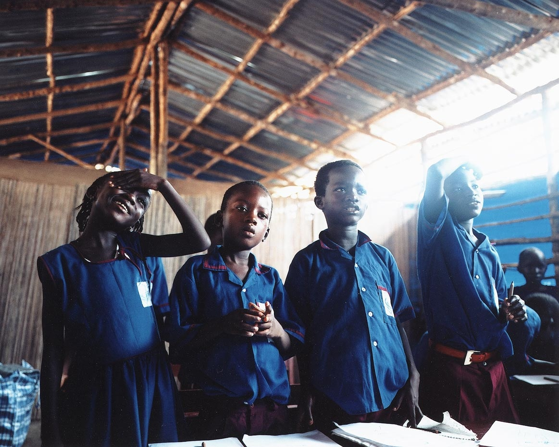 Class Two, Goderich Waldorf School Freetown, Sierra Leone, 2006