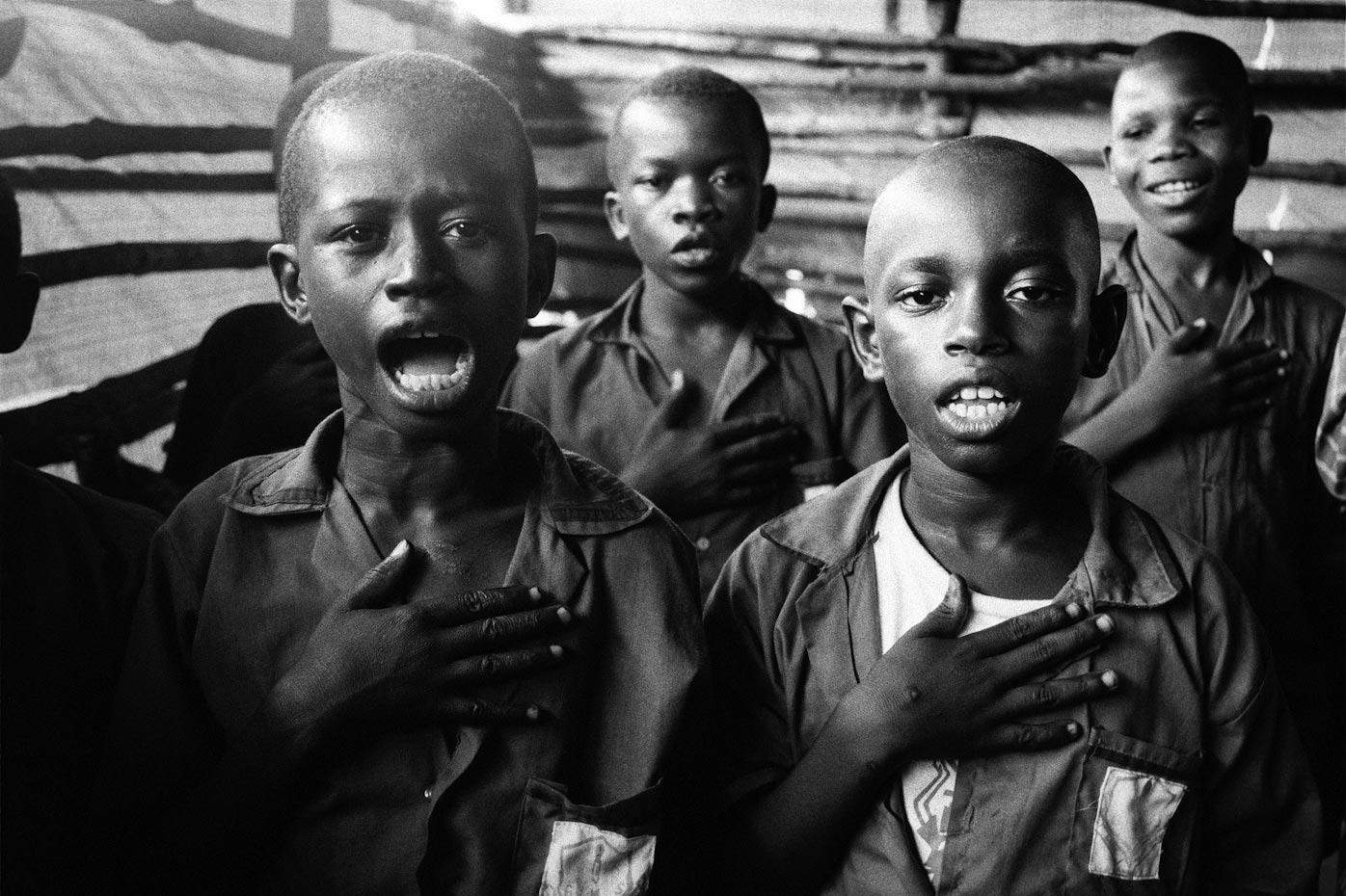 Class Four Songs, Goderich Waldorf School Freetown, Sierra Leone, 2006