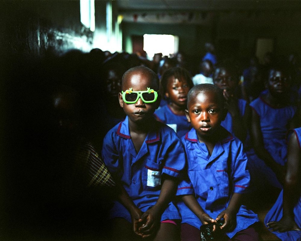 Assembly, Goderich Waldorf School Freetown, Sierra Leone, 2006
