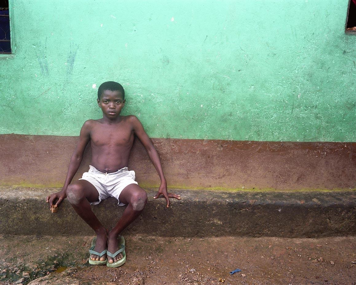 Osman, former child soldier Freetown, Sierra Leone, 2006