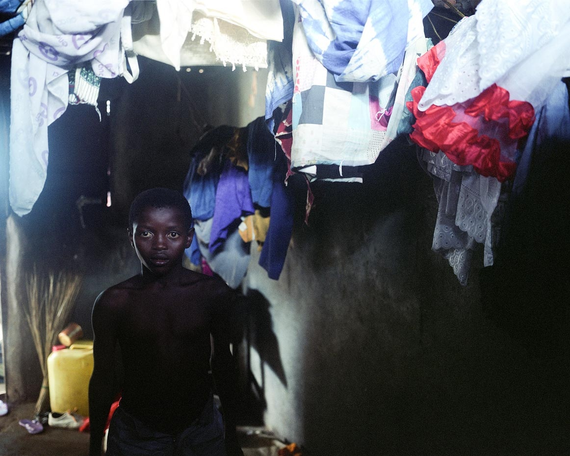 Osman at home Freetown, Sierra Leone, 2006