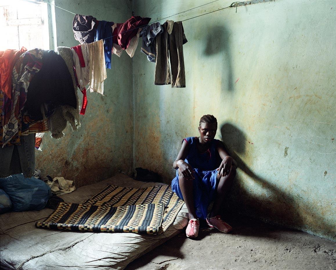 Fatmata at home Freetown, Sierra Leone, 2006