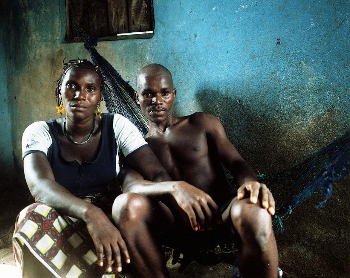 Osman's neighbors Freetown, Sierra Leone, 2006