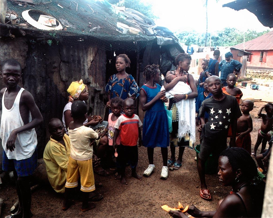 Goderich Village after school Freetown, Sierra Leone, 2006