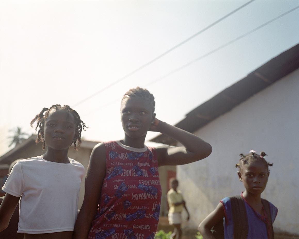 Fatmata with friends Freetown, Sierra Leone, 2006