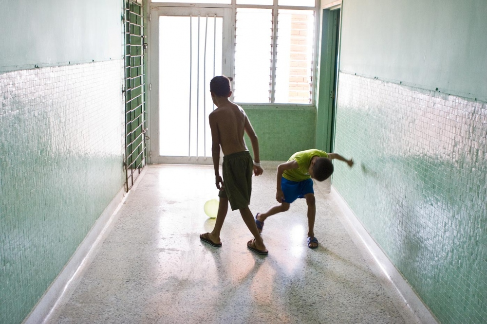 Soccer in the halls Santa Marta, Colombia, 2007   For Healing the Children Northeast