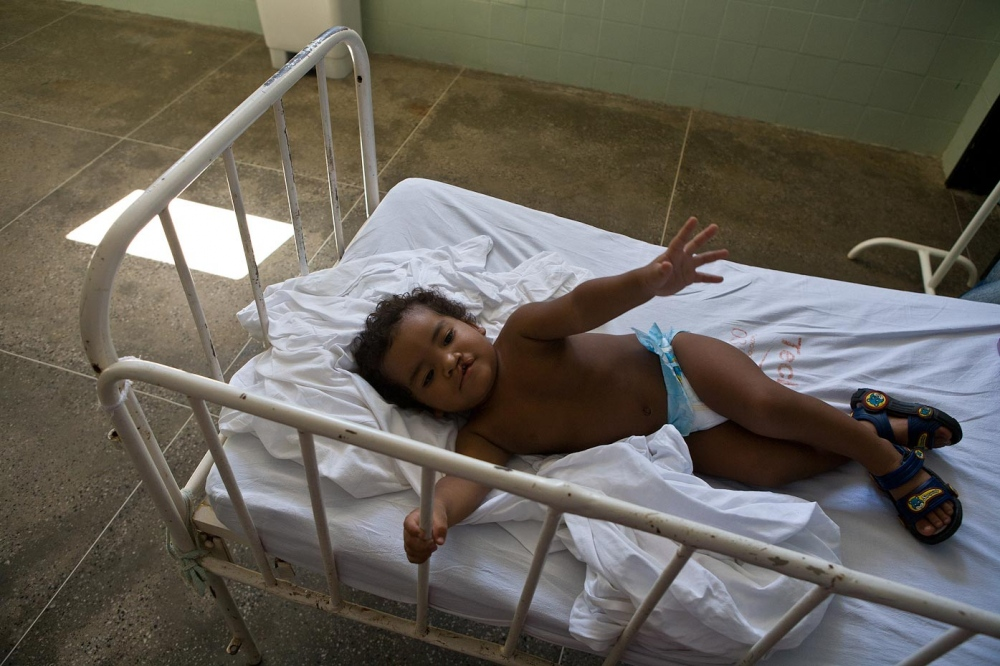 Iago before surgery Aquiraz, Brazil, 2008   For Healing the Children Northeast