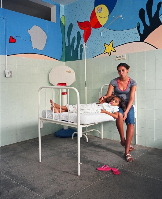 Evelyn and her mother Luzirene before surgery Aquiraz, Brazil, 2008   For Healing the Children Northeast