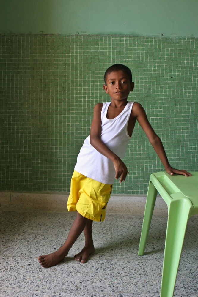 Carlos Mario Santa Marta, Colombia, 2007 For Healing the Children Northeast