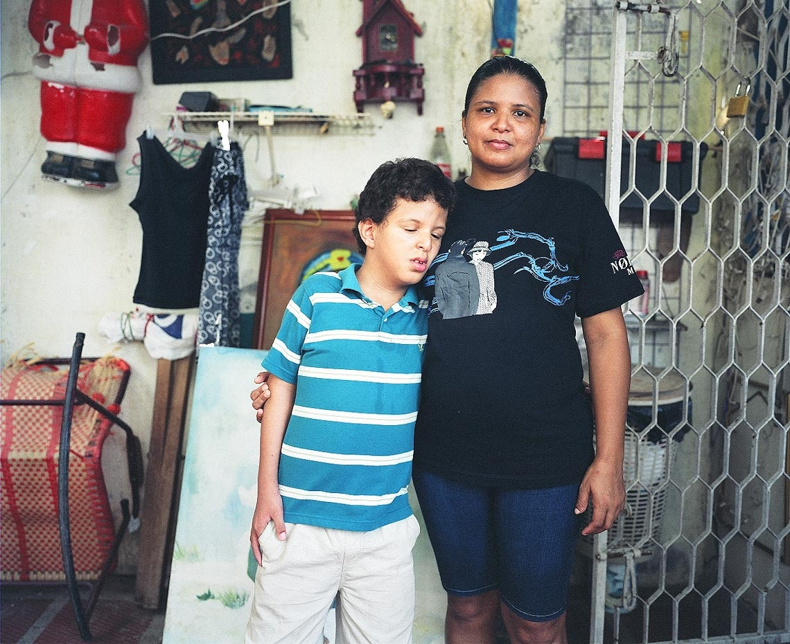 Unaldo with his mother Nancy Santa Marta, Colombia, 2010 For Healing the Children Northeast
