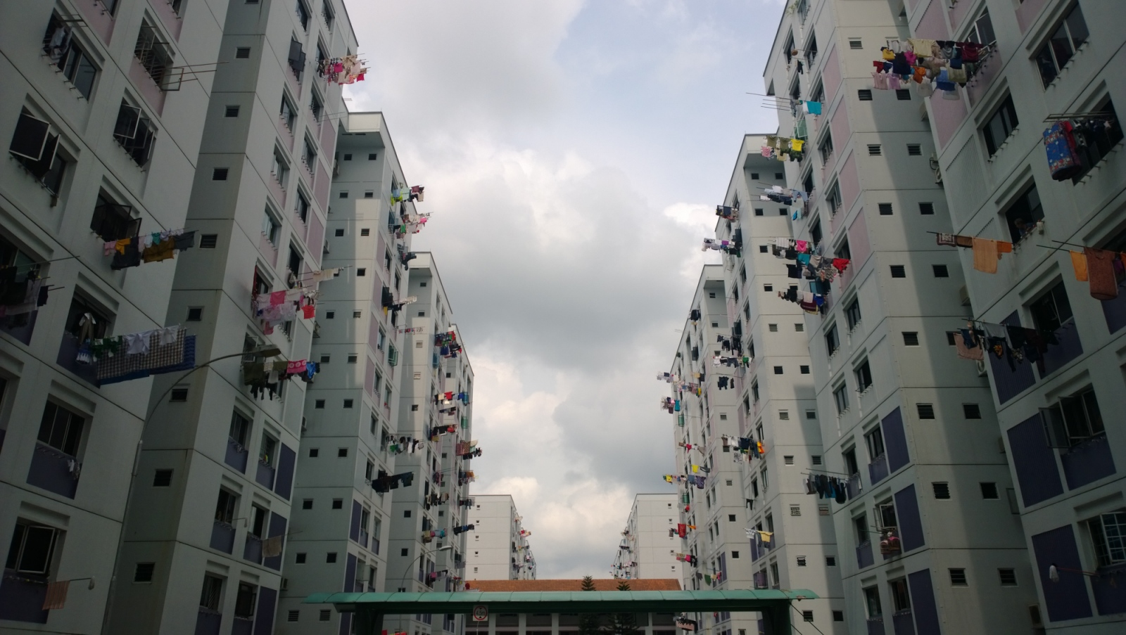 Foreign domestic workers are required by Singapore law to live with their employers. While many employers of Foreign Domestic Workers live in private condominiums and landed houses, many Singaporeans live in Housing Development Board (HDB) Flats. Public Housing in Singapore is one of the country's success stories, and often held up as a shining example of how the city-state has modernised and provided for its citizens in the 50 years since independence. Regularly quoted statistics show that over 80% of Singapore's residents live in HDB (Housing Development Board) Public Housing and 90% of these are home owners.