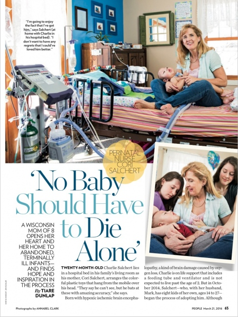 People Magazine, March 2016