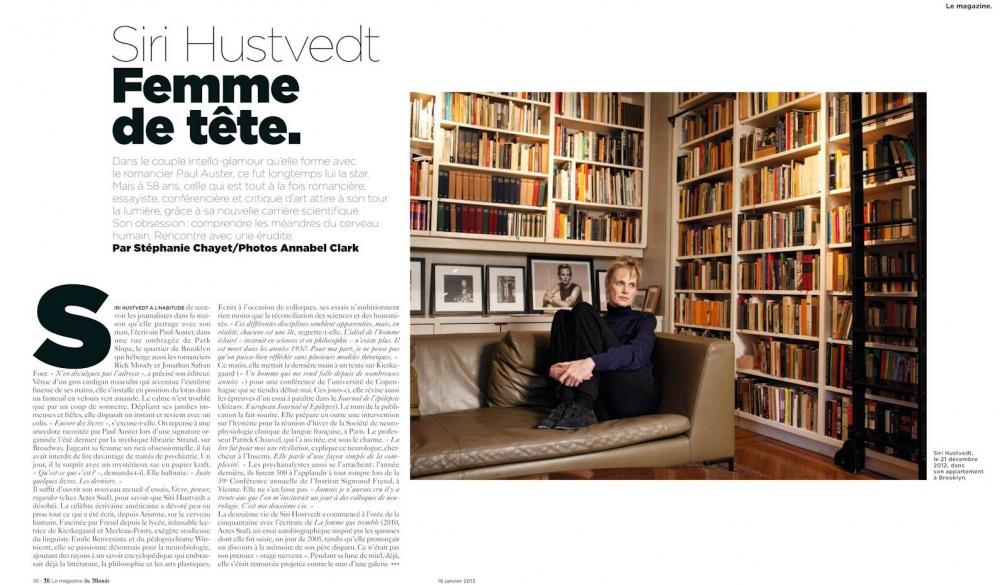M, le Magazine du Monde, January 2013