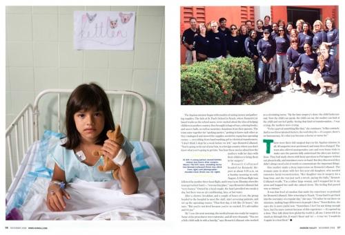 Hudson Valley Magazine, November 2008