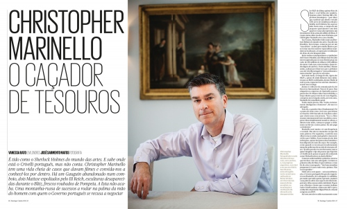 Christopher Marinello in London, for 2, Publico.
