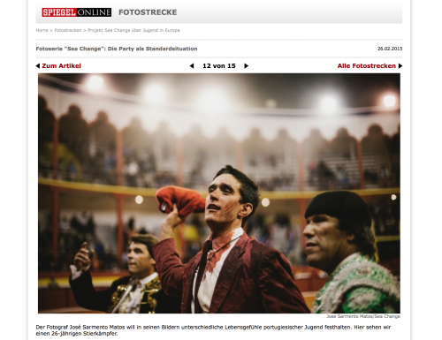 Project Sea Change in Spiegel Online. View  here