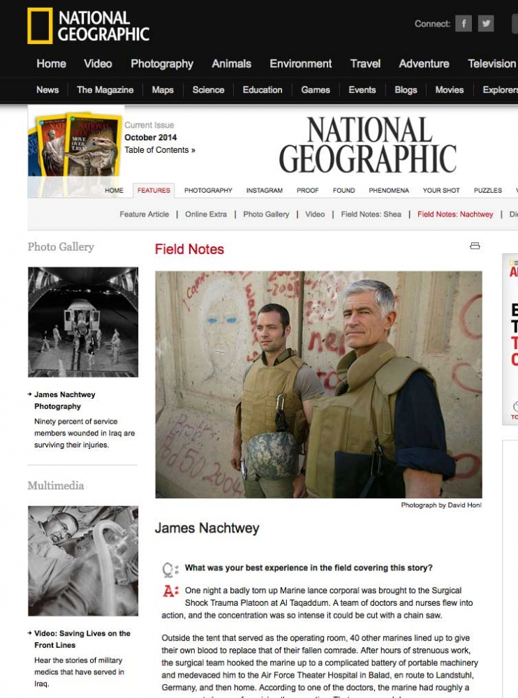 National Geographic Photographed in Baghdad, Iraq