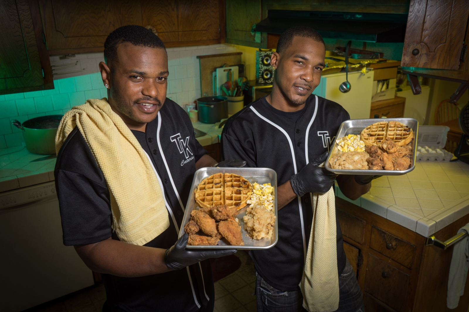 "Malachi ""Spank"" Jenkins, a Crip, and Roberto ""News"" Smith of the Pirus (Blood) started the Trap Kitchen to deliver home cooked meals to Compton and surrounding communities."