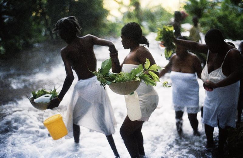 Saut d'Eau, Haiti 2004
