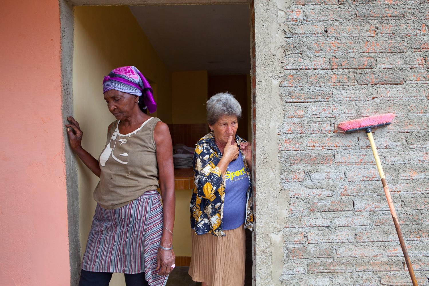 Farm women in Pinar del Rio.