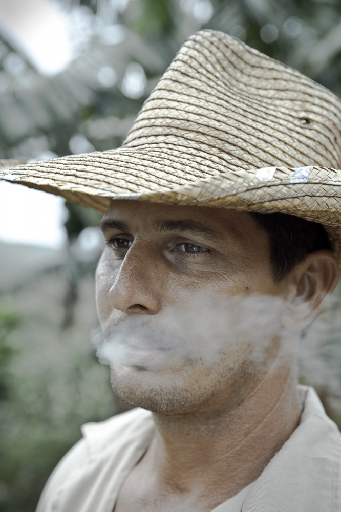 Tobacco farmer, Viñales Valley, Pinar del Rio.