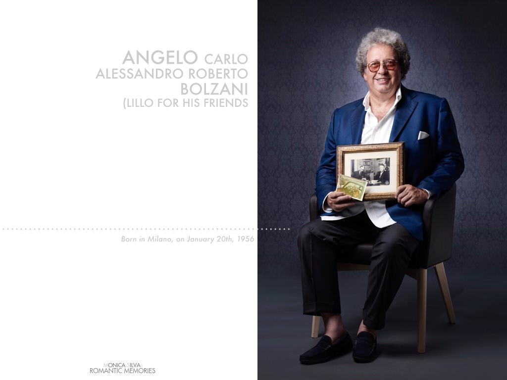 Angelo Bolzani - Art dealer -Shot on 19 of August, 2016