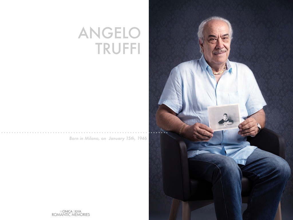 Angelo Truffi - Folkore singer - Shot on 18 of August, 2016