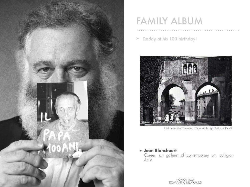 Jean Blanchaert -Family album